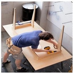 Сборка столов по низким ценам в Воронеже от специалистов