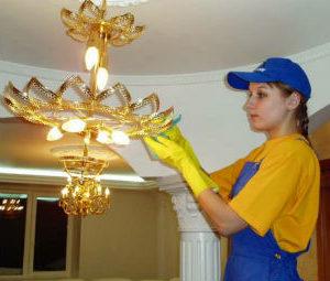Мытье люстр в Воронеже