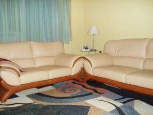 Перетяжка кожаной мебели в Воронеже